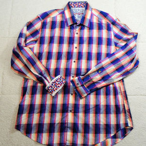 Robert Graham Colorful Classic Fit Shirt Sz Large